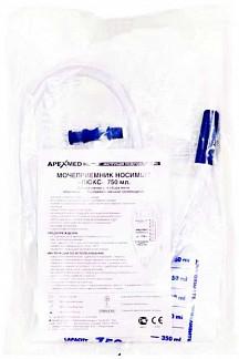 Апексмед мочеприемник ножной люкс с длиной трубки 30см 0,75л