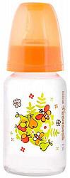 Мир детства бутылочка полипропиленовая с силиконовой соской 0+ арт.11210 125мл