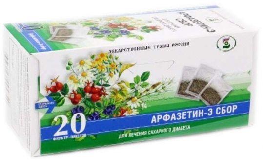 Арфазетин-э 2г 20 шт. фильтр-пакет сбор, фото №1
