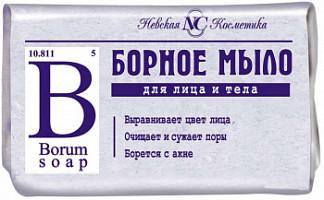 Борное мыло туалетное для лица/тела 90г