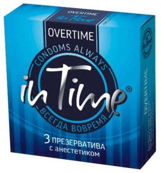 Ин тайм презервативы с анестетиком 3 шт., фото №1