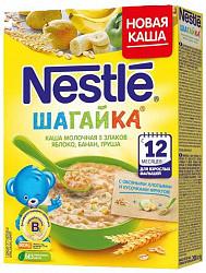 Нестле каша молочная 5 злаков яблоко/банан/груша/бифидобактерии/молоко 200г