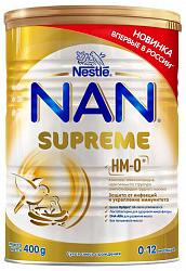 Нестле нан суприм смесь молочная 400г