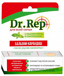 Доктор реп бальзам -карандаш п/укусов насекомых 4,2г