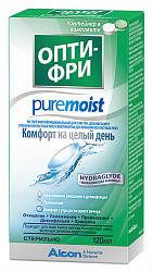 Опти-фри пьюр моист раствор для контактных линз 120мл