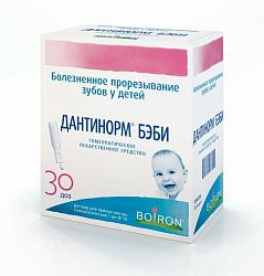 Дантинорм бэби 1мл 30 шт. раствор для приема внутрь гомеопатический