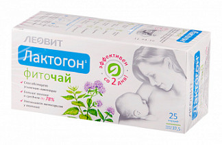 Лактогон фиточай 1,5г 25 шт. фильтр-пакет