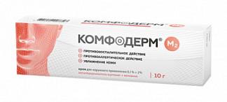 Комфодерм м2 0,1%+0,2% 10г крем для наружного применения