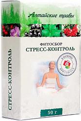 Алтайские травы стресс-контроль фитосбор 50г