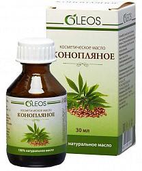 Олеос масло косметическое конопляное 30мл