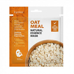 Киоко маска для лица тканевая восстанавливающая овсяное молочко/д-пантенол 1 шт.