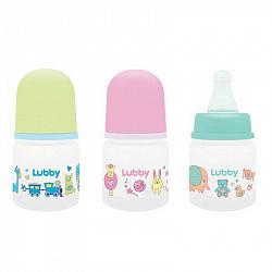 Лабби бутылочка стеклянная с силиконовой соской малыши и малышки 0+ арт.16588 60мл