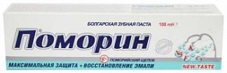 Поморин зубная паста максимальная защита + восстановление эмали 100г