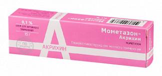 Мометазон-акрихин 0,1% 15г крем для наружного применения