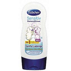 Бюбхен шампунь детский для чувствительной кожи головы ласковый/нежный 230мл