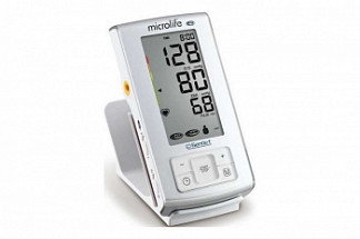 Микролайф тонометр автоматический вр а6 pc с функцией выявления риска инсульта с адаптером и манжетой размер m-l (22-42см)