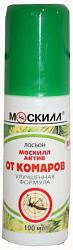 Москилл актив лосьон-спрей защитный от комаров 100мл