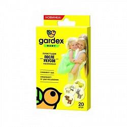 Гардекс baby пластырь после укусов насекомых 20 шт.