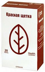 Красная щетка 1,5г 20 шт. фильтр-пакет здоровье