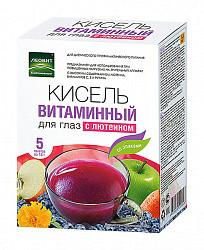 Леовит биоинновации кисель диетический витаминный для глаз с лютеином 18г 5 шт.