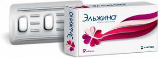 Эльжина 9 шт. таблетки вагинальные
