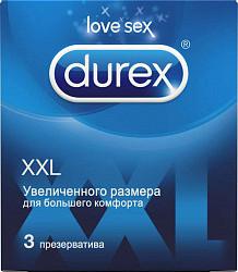 Дюрекс презервативы xxl 3 шт.