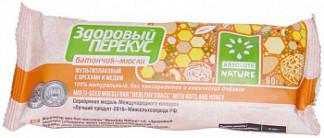 Здоровый перекус батончик с орехами и медом 60г