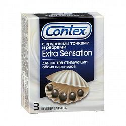 Контекс презервативы экстра сэнсэйшн 3 шт.