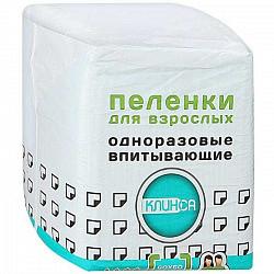 Клинса пеленки одноразовые 60х60 30 шт.