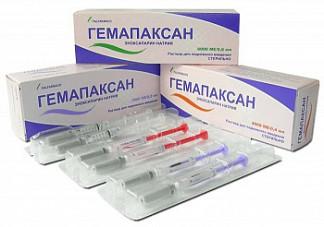 Гемапаксан 6000ме/0,6мл 6 шт. раствор для подкожного введения шприц