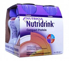 Нутридринк компакт протеин смесь персик/манго 125мл 4 шт.
