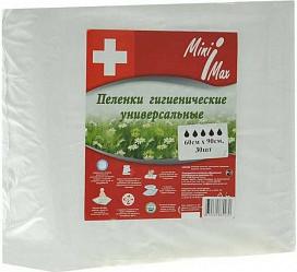 Минимакс пеленки универсальные 60х90 №30