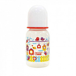 Лабби бутылочка рр+соска силиконовая малыши и малышки арт.12023 125мл