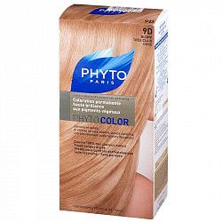 Фито фитоколор краска для волос оттенок 9d очень светлый золотистый блонд