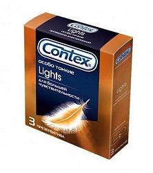 Контекс презервативы лайтс 3 шт.