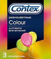 Контекс презервативы колор 3 шт.