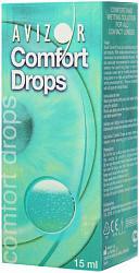 Капли avizor comfort drops капли глазные для контактных линз