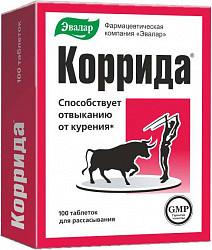 Коррида таблетки для рассасывания 500мг 100 шт. эвалар