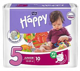 Белла беби хеппи подгузники джуниор 12-25кг 10 шт.