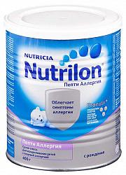 Нутриция нутрилон пепти аллергия смесь молочная 400г
