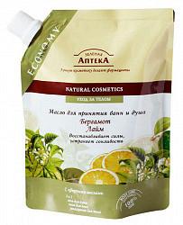 Зеленая аптека масло для ванной/душа бергамот/лайм 250мл