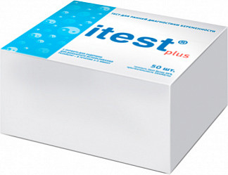 Ай-тест плюс тест для определения беременности 1 шт.