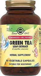 Солгар экстракт листьев зеленого чая капсулы 60 шт.