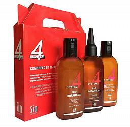 Система 4 комплекс от выпадения волос 100мл (шампунь, маска, сыворотка)