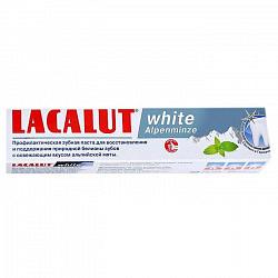 Лакалют вайт зубная паста альпийская мята 100мл