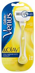 Жиллет венус олей станок + 1 кассета