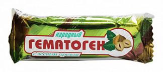 Гематоген народный с лесным орехом 40г