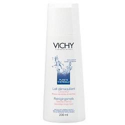 Виши пюрте термаль молочко очищающее для сухой/чувствительной кожи 200мл