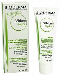 Биодерма себиум гидра крем увлажняющий для жирной/хрупкой кожи 40мл