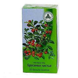 Брусника листья 1,5г 20 шт. фильтр-пакет здоровье
